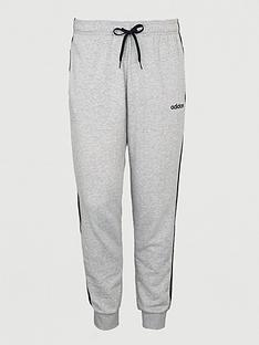 adidas-plus-size-essential-3-stripe-track-pants-grey