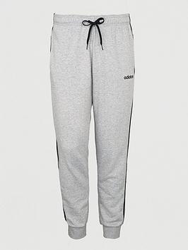 adidas-plus-size-essential-3-stripe-track-pants-grey