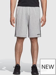adidas-adidas-plus-size-essential-3-stripe-short