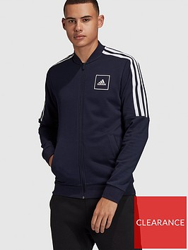 adidas-3-stripe-tape-track-top-navynbsp