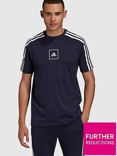 adidas-3-stripe-tape-t-shirt-navynbsp