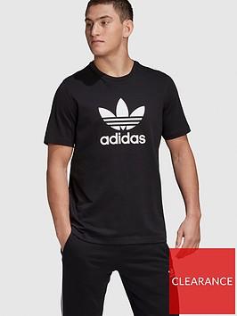 adidas-originals-trefoil-t-shirt-blacknbsp