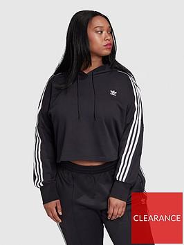 adidas-originals-plusnbspcropped-hoodie-black