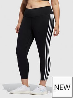 adidas-believe-this-3-stripe-78-leggingsnbspplus-size-blacknbsp