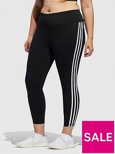 adidas-believe-this-3-stripe-78-leggingsnbspplus-size-blacknbsp