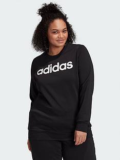 adidas-plusnbspessentials-linear-crew-sweat-black