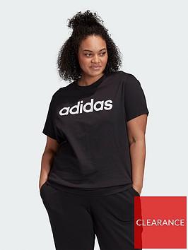 adidas-plusnbspessentials-loose-linear-tee-plus-size-black