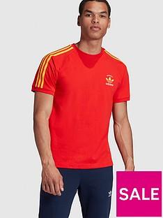 adidas-originals-3-stripes-spainnbspt-shirt-rednbsp