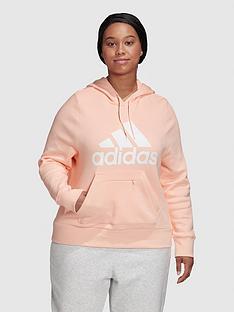 adidas-plusnbspbadge-of-sport-overhead-hoodie-coral