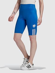 adidas-originals-3dnbsptrefoil-cycling-shorts-bluenbsp