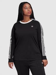 adidas-originals-3-stripe-long-sleeve-t-shirtnbspcurve-black