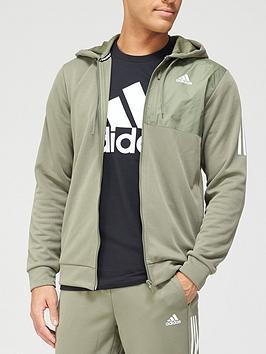 adidas-must-have-aero-full-zip-hoodie-green