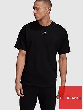 adidas-3-stripe-t-shirt-black