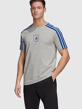 adidas-3-stripe-tape-t-shirt-medium-grey-heathernbsp