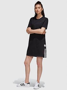 adidas-originals-adicolournbsp3d-trefoil-tee-dress-black-white