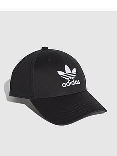 adidas-originals-classic-trefoil-cap-black