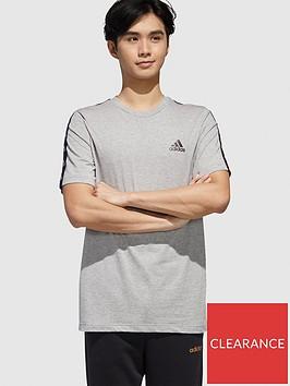 adidas-essential-tape-t-shirt-greynbsp