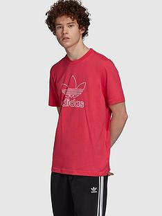 adidas-originals-trefoil-t-shirt-red