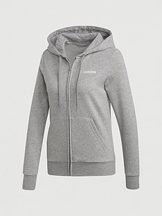 adidas-essentials-plain-full-zip-hoodie