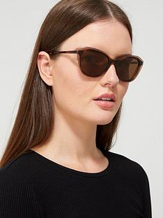 dkny-cateye-sunglasses-brown