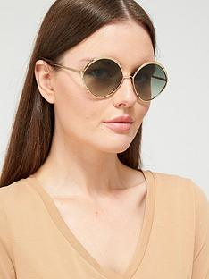 chloe-oval-sunglasses-goldgreen