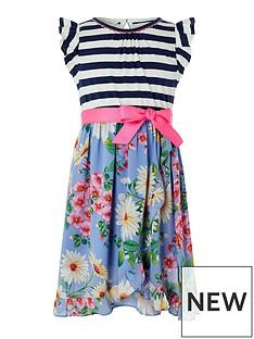 monsoon-girls-dulcie-2-in-1-woven-wrap-dress-blue