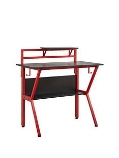 lloyd-pascal-roguenbspcompactnbspgaming-desk-blackred