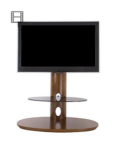 avf-chepstow-combi-930-tv-unitnbsp--walnut-black-glassnbsp--fitsnbspup-to-65-inch-tv