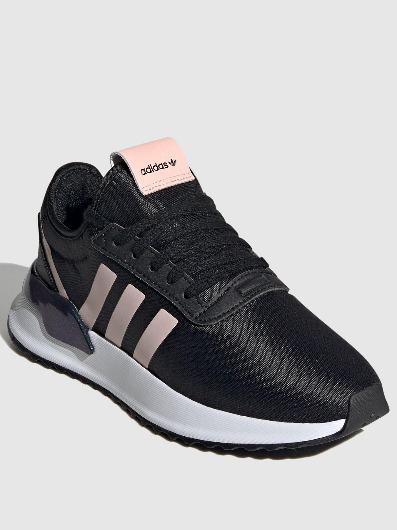 adidas u path black and pink