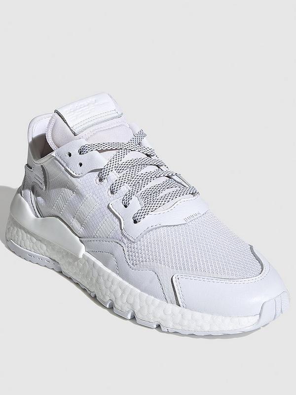 svenire stazionario Rendere omaggio  adidas Originals Nite Jogger - White   very.co.uk