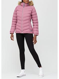 trespass-nadina-faux-fur-trim-parka--pinknbsp
