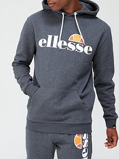 ellesse-gottero-overhead-hoodie-dark-grey-marl