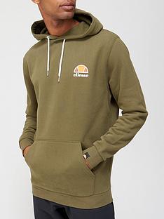 ellesse-toce-overhead-hoodie-khaki