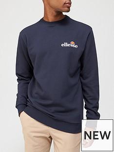 ellesse-fierro-sweatshirt-navy