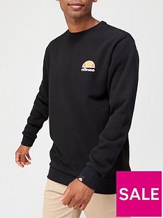 ellesse-diveria-sweatshirt-black