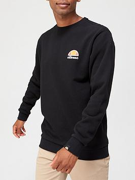 ellesse-diveria-sweatshirt-black