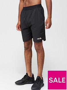 ellesse-vivaldi-7-inch-shorts-black