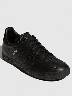 adidas-originals-gazelle-junior-trainers-black