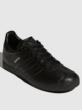 adidas-originals-gazelle-junior-trainers-black