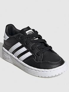 adidas-originals-team-court-infant-trainers-blackwhite