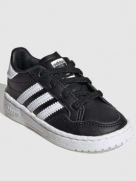 adidas-originals-team-court-infant-trainers-blackwhite