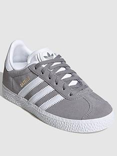 adidas-originals-gazelle-childrens-trainers-greywhite