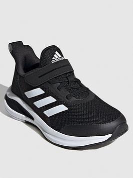 Adidas Fortarun Kids Trainers - Black/White