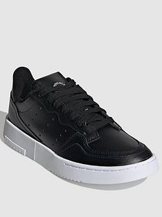adidas-originals-supercourt-junior-trainers-black