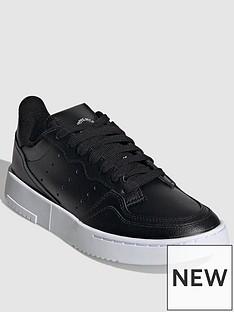 adidas-originals-supercourt-junior-trainers-black