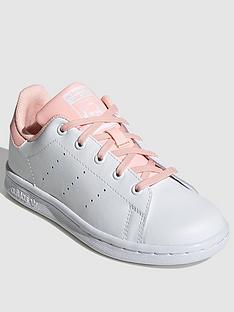 adidas-originals-stan-smith-childrens-trainers-whitepink