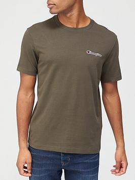 champion-small-logo-t-shirt-khakinbsp