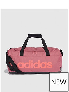 adidas-linear-duffle-fleece-bag-maroon