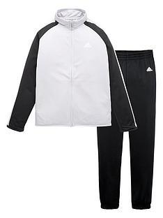 adidas-boys-tracksuit-greyblack