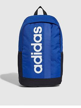 adidas-linear-core-backpack-blue